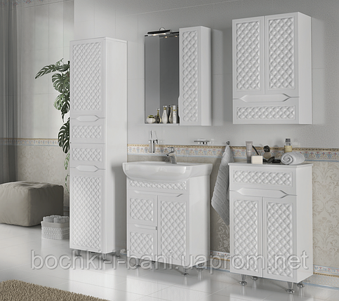 Мебельный гарнитур в ванную из массива, фото 2
