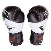 Боксерские перчатки Ever DX, 10oz, бело-зеленый