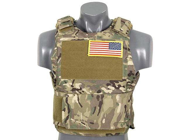 Разгрузка Delta Soft Body Armor - Multicam [8FIELDS] (для страйкбола)