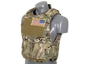Разгрузка Delta Soft Body Armor - Multicam [8FIELDS] (для страйкбола), фото 3