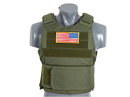 Разгрузка Delta Soft Body Armor - OLIVE [8FIELDS] (для страйкбола)
