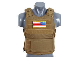 Разгрузка Delta Soft Body Armor - COYOTE [8FIELDS] (для страйкбола)