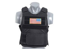 Разгрузка Delta Soft Body Armor - BLACK [8FIELDS] (для страйкбола)