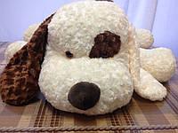 Мягкая плюшева игрушка Собака с пятном,110см