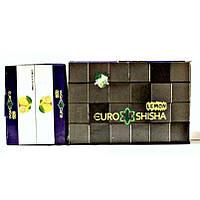 Уголь для кальяна EuroShisha Лимон, 144 кубика