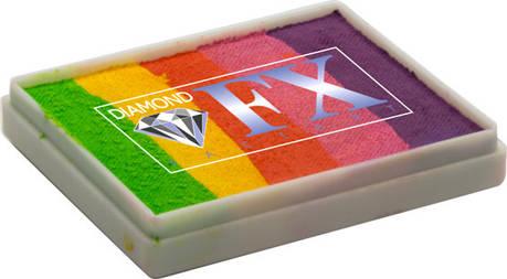 Сплит кейк Diamond FX Сумасшедшая радуга, фото 2