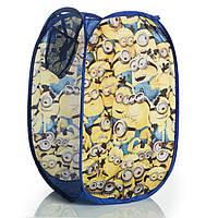 Корзина для игрушек Миньоны (Minions) для мальчиков (р. 36x36x58 см) ТМ Disney (Sun City) MOA402212