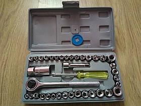 Набор инструментов AIWA 40 предметов трещетка