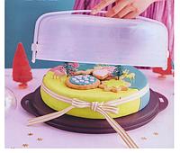 Кондитер сервировочный бордовый, Tupperware, фото 1