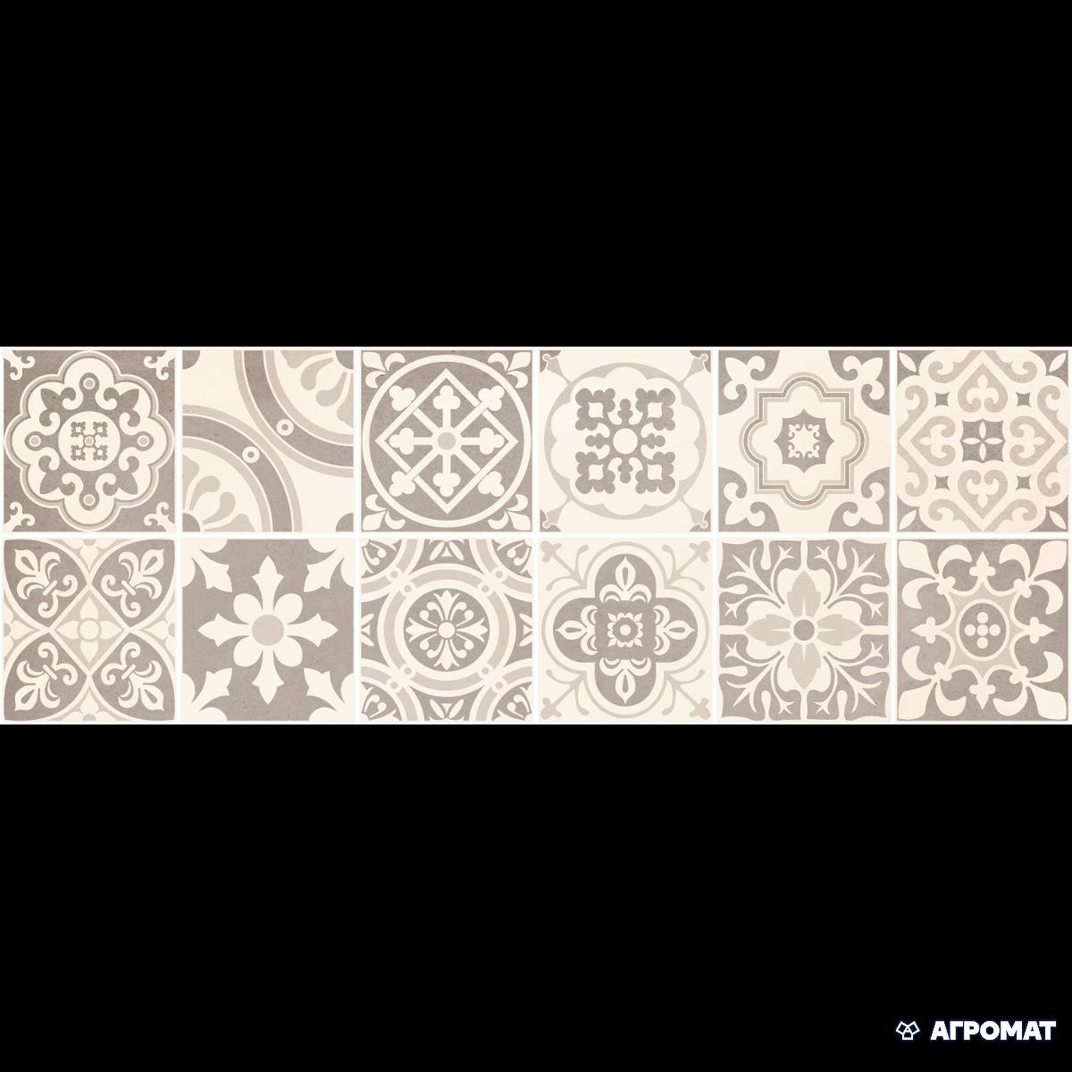 Плитка Bellavista Ceramica Tour INSERTO GRIS арт.(391904)