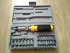 Набор инструментов 41 предмет реверсивная отвертка оптом aiwa