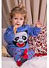 "Теплый костюм Литл ""Панда"" голубой 1-3 года, фото 5"