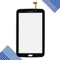 Тачскрин (сенсор) Samsung Galaxy Tab 3 7.0 (T210, P3200), цвет черный