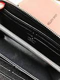 Стильный мужской кошелек на молнии Louis Vuitton черный Премиум Качество клатч Брендовый Louis Vuitton реплика, фото 10