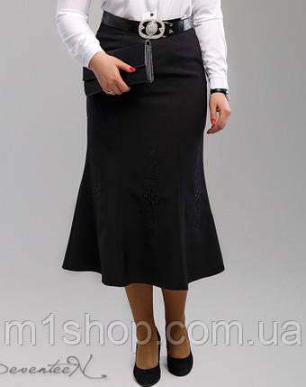 Женская юбка-миди с вышивкой (1993 svt), фото 2