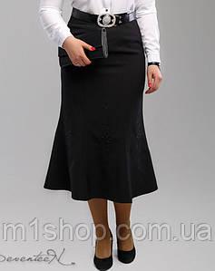 Женская юбка-миди с вышивкой (1993 svt)