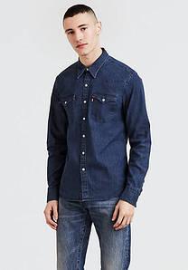 Рубашка джинсовая Levi's Barstow Western Shirt MID DENIM STRETCH RINSE