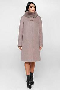 Женское пальто FT  П-990 н/м Шерсть пальтовая 113-1712 Тон 4