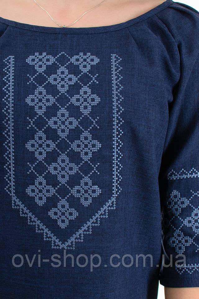 вышитая блузка