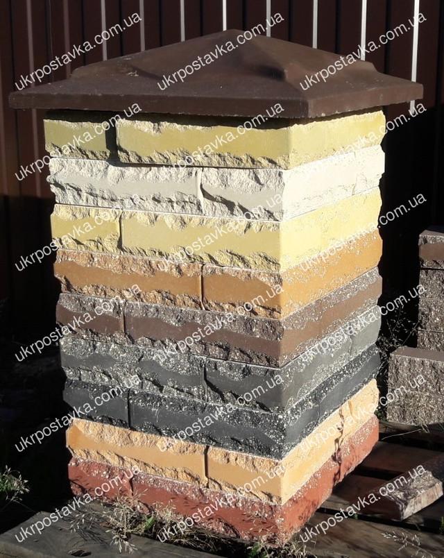 Кирпич рваный камень LAND BRICK