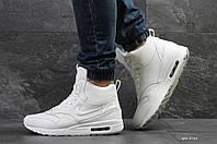 Мужские зимние кроссовки в стиле Nike Air Max 87 / Найк Аир Макс 87,белые (6762)