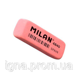 """CNM4840 Ластик прямоуг. с фаской """"TM MILAN"""" 5,2*1,9*0,8см"""