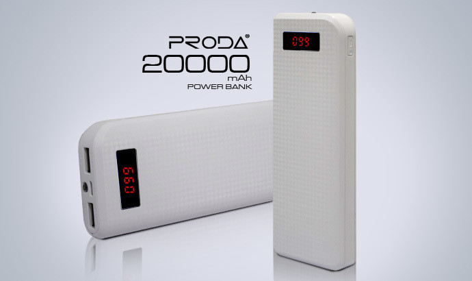 Повербанк 20000mAh Power Bank REMAX Proda PowerBox 20000mAh