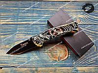 Нож складной Boker 048 Скелет Корсар Полуавтомат, фото 1