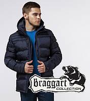 Темно-синяя мужская куртка на зиму Braggart «Aggressive» (Бреггарт «Агрессив»)
