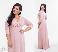 Женское нарядное платье в пол  ДГд41.160 (бат), фото 1