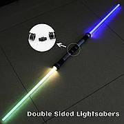 2шт! Световой Меч комлект, Звёздные войны, лазерный меч джедая 67см!