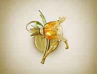 Настенный светильник, бра в стиле флористика 5410