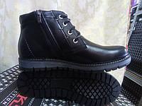 Зимние кожаные ботинки на молнии Madoks
