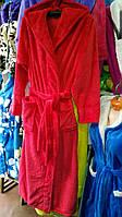 Махровый халат длинный 42-54, фото 1