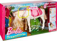 Лялька Барбі наїзниця і інтерактивна танцюючий кінь Мрії Barbie FRV36, фото 1