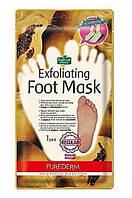 Пилинг-носочки для стопы до 27 см PUREDERM Exfoliating Foot Mask Regular