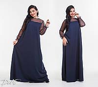 Женское модное платье в пол  ДГр15140 (бат), фото 1