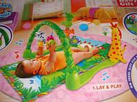 """Детский развивающий музыкальный коврик Тропический Лес """"Baby Gift"""" 3059 (JDL555-2)"""