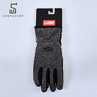 Перчатки сенсорные UP Knited Graf темно-серые, фото 1