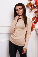 Гольф женский с люрексом в цветах 27470, фото 1