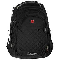 Рюкзак городской спортивный Swissgear (9375) Черный