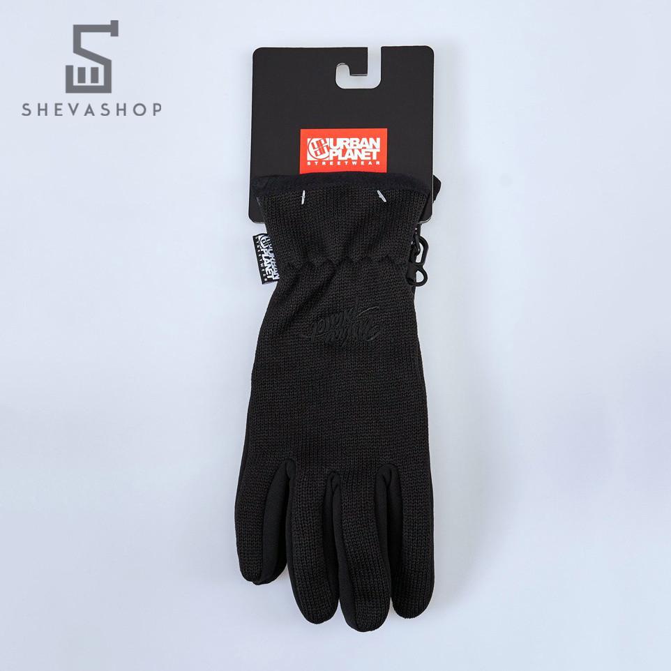 Перчатки сенсорные UP Knited Blk черные