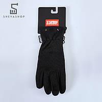 Перчатки сенсорные UP Knited Blk черные, фото 1