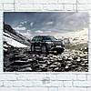 Постер Toyota Land Cruiser 200 (60x85см)