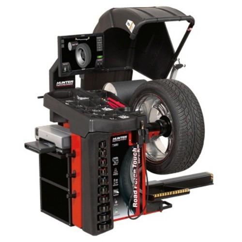 Балансувальний стенд Road Force Touch 3 в 1 c пневмозажимом і підйомником колеса HUNTER RFT30E