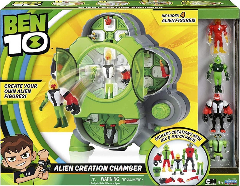 """Бен 10 """"Станция создания своих пришельцев"""" c 4 фигурками,Ben 10 Alien Creation Chamber Оригинал из США"""