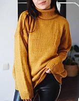 Женский свитер свободного фасона