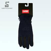 Перчатки сенсорные UP Knited NS темно-синие, фото 1