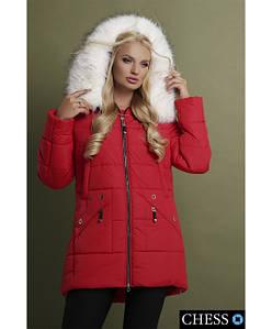 Женская куртка RA М-61 ЭЛЕОНОРА красный