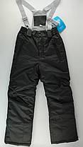 Полукомбинезон для мальчиков Черный Полиэстер Baby Line Украина 9 лет, 134 см